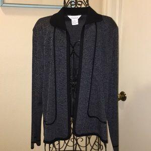 Misook tweed jacket